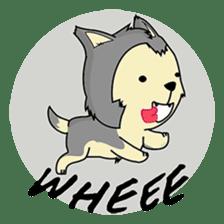HUSKy Cuteness - Huskies emoji stickers sticker #13622337