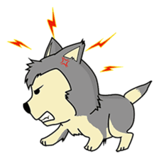 HUSKy Cuteness - Huskies emoji stickers sticker #13622338