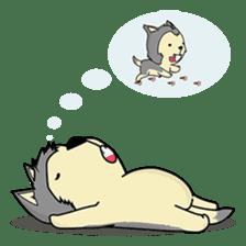 HUSKy Cuteness - Huskies emoji stickers sticker #13622341