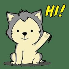 HUSKy Cuteness - Huskies emoji stickers sticker #13622342