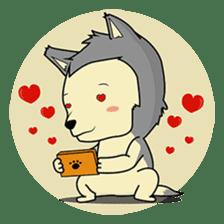 HUSKy Cuteness - Huskies emoji stickers sticker #13622348