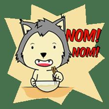 HUSKy Cuteness - Huskies emoji stickers sticker #13622350