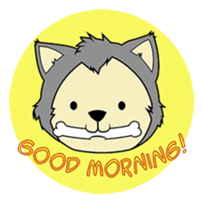 HUSKy Cuteness - Huskies emoji stickers sticker #13622356