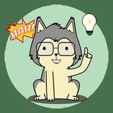 HUSKy Cuteness - Huskies emoji stickers sticker #13622358