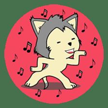 HUSKy Cuteness - Huskies emoji stickers sticker #13622360