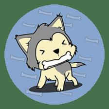 HUSKy Cuteness - Huskies emoji stickers sticker #13622364