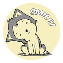 HUSKy Cuteness - Huskies emoji stickers sticker #13622365