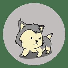 HUSKy Cuteness - Huskies emoji stickers sticker #13622368