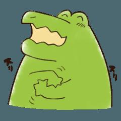 A funny crocodile 3