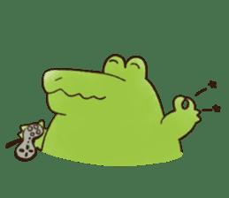 A funny crocodile 3 sticker #13624302