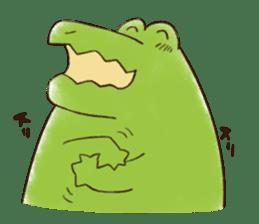 A funny crocodile 3 sticker #13624304