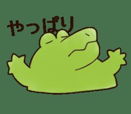 A funny crocodile 3 sticker #13624313