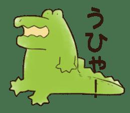 A funny crocodile 3 sticker #13624317