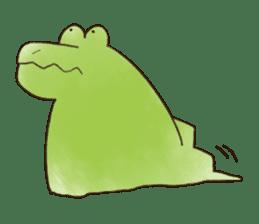 A funny crocodile 3 sticker #13624329