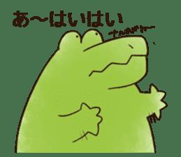 A funny crocodile 3 sticker #13624334