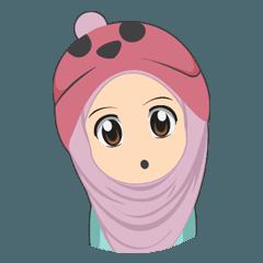 Cute sister hijab