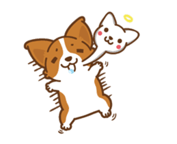 Corgi Dog Kaka - animated sticker vol. 1 sticker #13634548