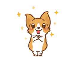 Corgi Dog Kaka - animated sticker vol. 1 sticker #13634551