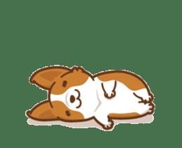 Corgi Dog Kaka - animated sticker vol. 1 sticker #13634553