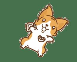Corgi Dog Kaka - animated sticker vol. 1 sticker #13634555