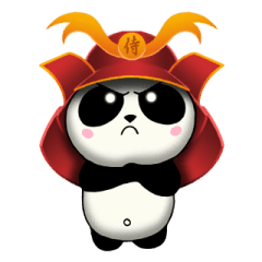 SAMURAI PANDA BEAR 2 (animated)