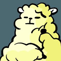 cute lazy sheep ver01