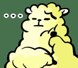 cute lazy sheep ver01 sticker #13643808