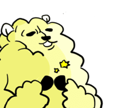 cute lazy sheep ver01 sticker #13643812