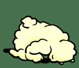 cute lazy sheep ver01 sticker #13643818