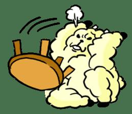 cute lazy sheep ver01 sticker #13643819