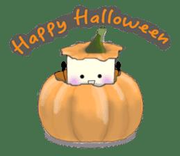 Little ToFu Boy -Halloween Special- sticker #13644246