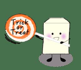 Little ToFu Boy -Halloween Special- sticker #13644248