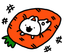 Puppu of rabbit sticker #13645056