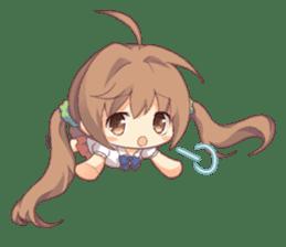 Anime Alarm Kanons Sticker sticker #13645665