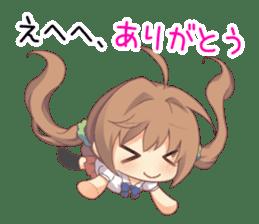 Anime Alarm Kanons Sticker sticker #13645680