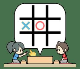 ooxx game sticker #13648689