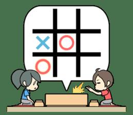 ooxx game sticker #13648690