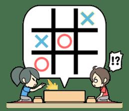 ooxx game sticker #13648691