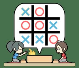 ooxx game sticker #13648702