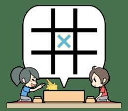 ooxx game sticker #13648704