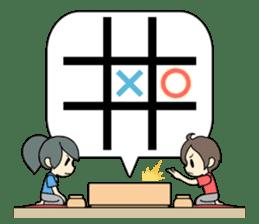 ooxx game sticker #13648705