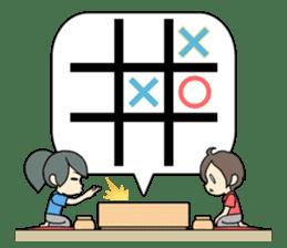 ooxx game sticker #13648706
