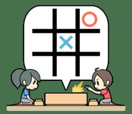 ooxx game sticker #13648712