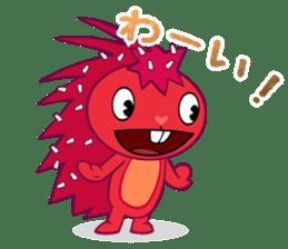 Happy Tree Friends: Flaky sticker #13650555
