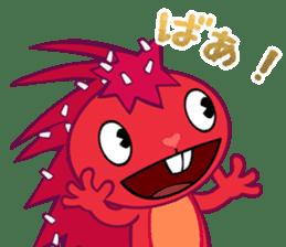 Happy Tree Friends: Flaky sticker #13650557
