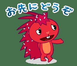Happy Tree Friends: Flaky sticker #13650564