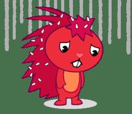 Happy Tree Friends: Flaky sticker #13650570