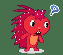 Happy Tree Friends: Flaky sticker #13650571