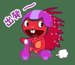 Happy Tree Friends: Flaky sticker #13650573