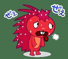 Happy Tree Friends: Flaky sticker #13650587